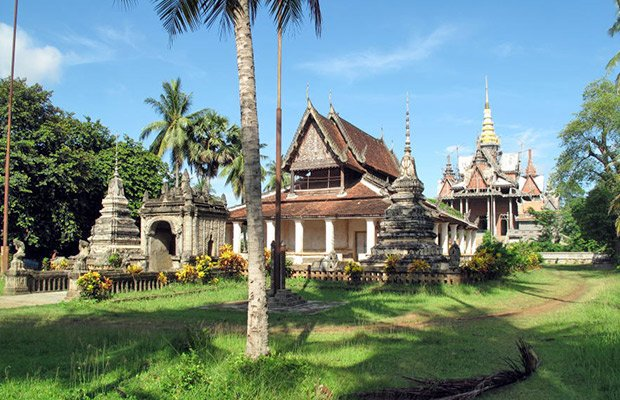 Wat Somrong Knong in Cambodia
