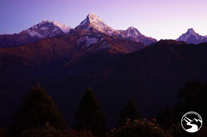 Annapurna Range in early morning