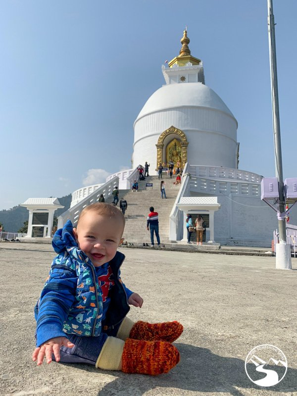 visiting the peace pagoda is one of the things to do in Pokhara