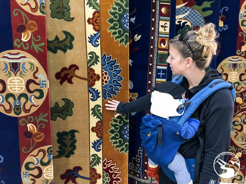 looking at carpets is one of the things to do in Pokhara