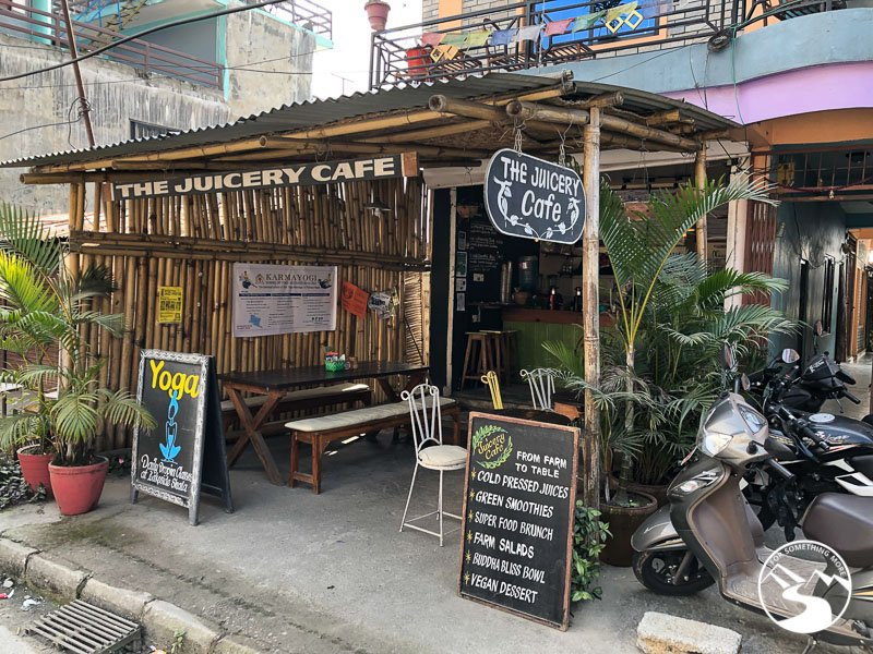 Eating at the Juicery Cafe is one of the  things to do in Pokhara