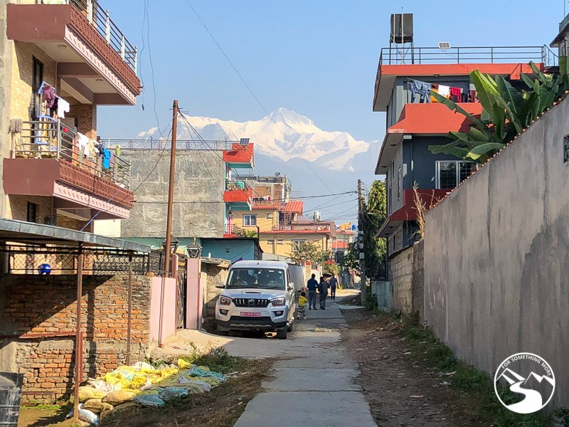 Strolling through the neighborhoods is one of the things to do in Pokhara