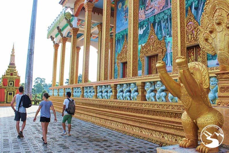 a pagoda in Cambodia