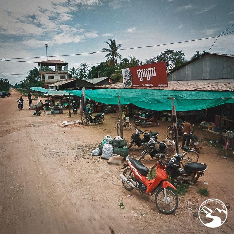 a market in Siem Reap