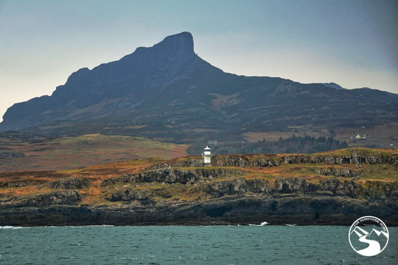 Sgurr in the Small Isles is part of off the beaten path Scotlane