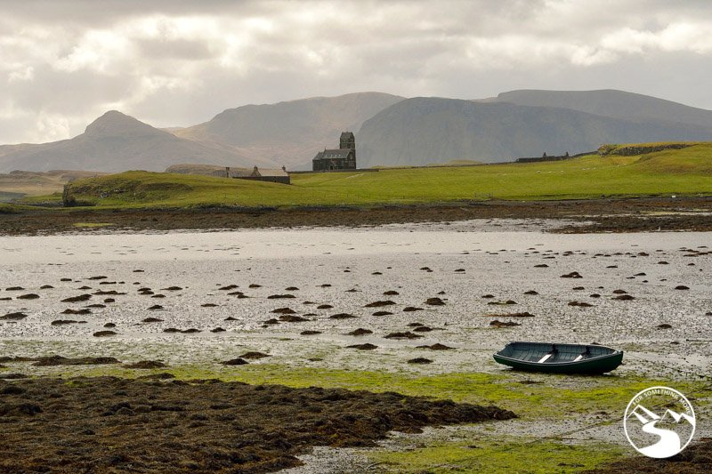 Low tide on Canna is off the beaten path Scotland