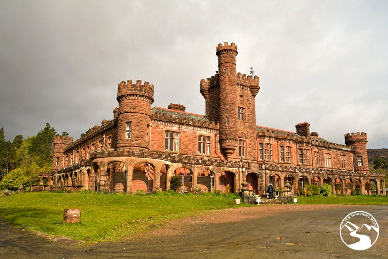 Kinloch Castle is part of off the beaten path Scotland