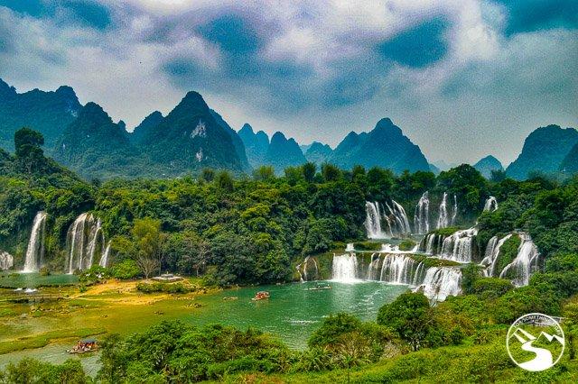 Detian Waterfalls in China