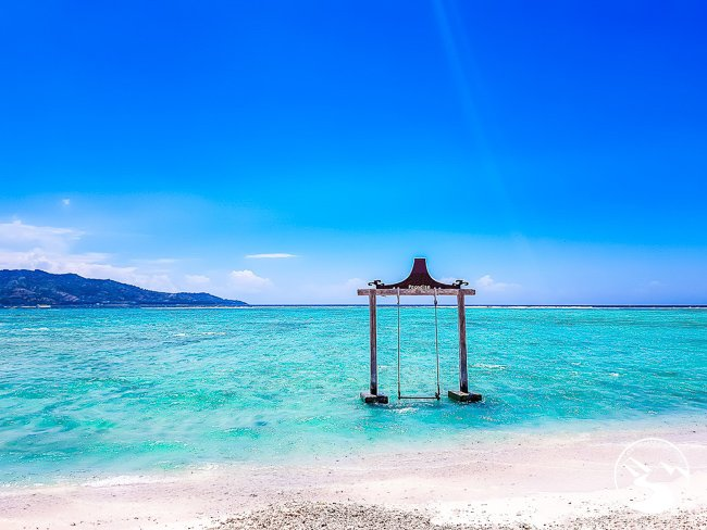 Relax on the beach in Bali