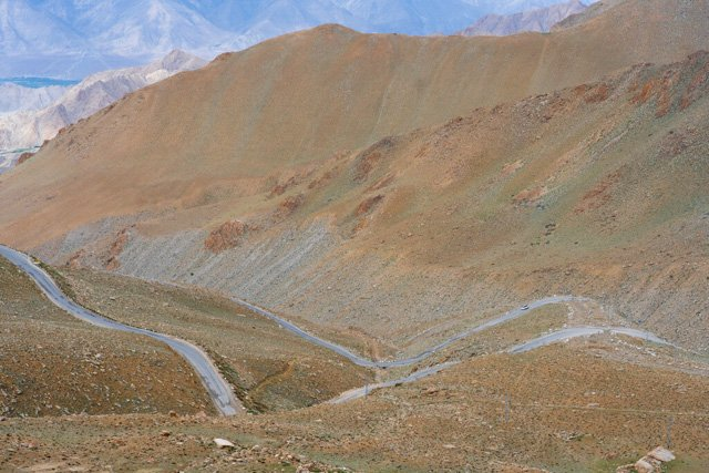 You can motorcycle tour Asia via the Great Himalaya Trail