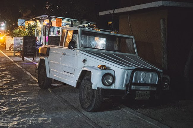 things to do in oaxaca ride a jeep taxi