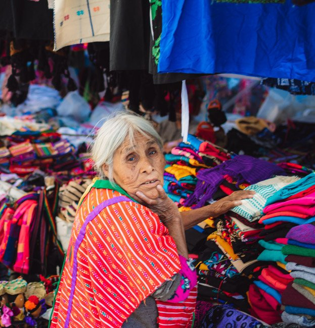 things to do in Oaxaca check out a street market