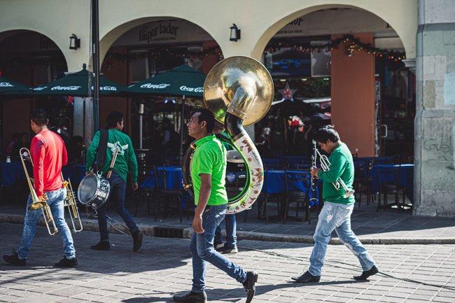 things to do in oaxaca include live music in Oaxaca City