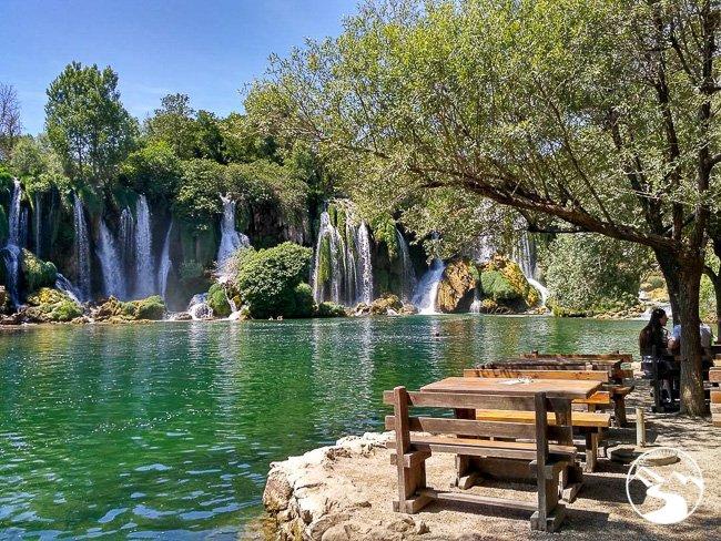 Kravice Waterfall is one of the Bosnia Waterfalls
