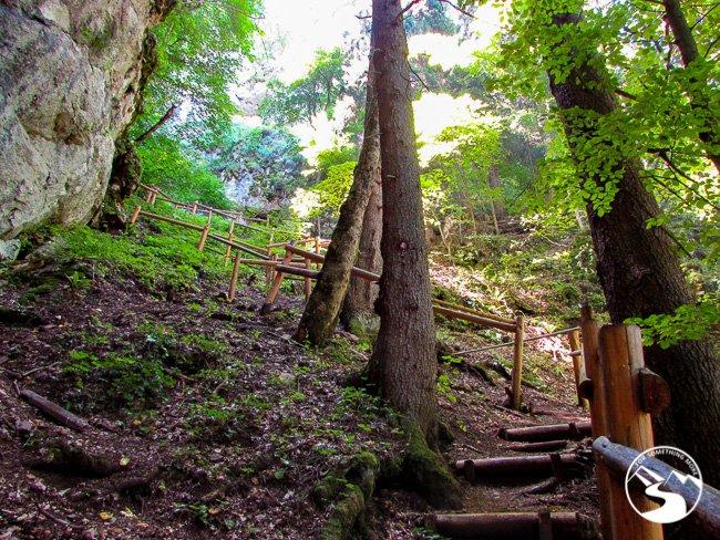 Trail to Skakavac Waterfall