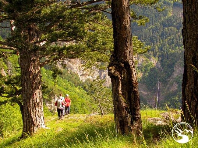 Hiking to Skakavac Waterfall in Sutjeska National Park