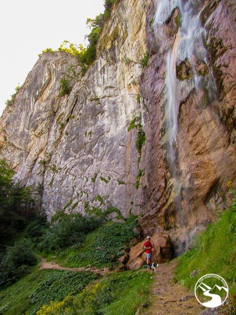 Skakavac Waterfall in Bosnia and Herzegovina