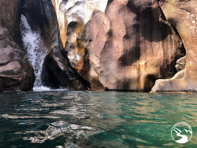the pool at Tai Shui Hang Waterfall