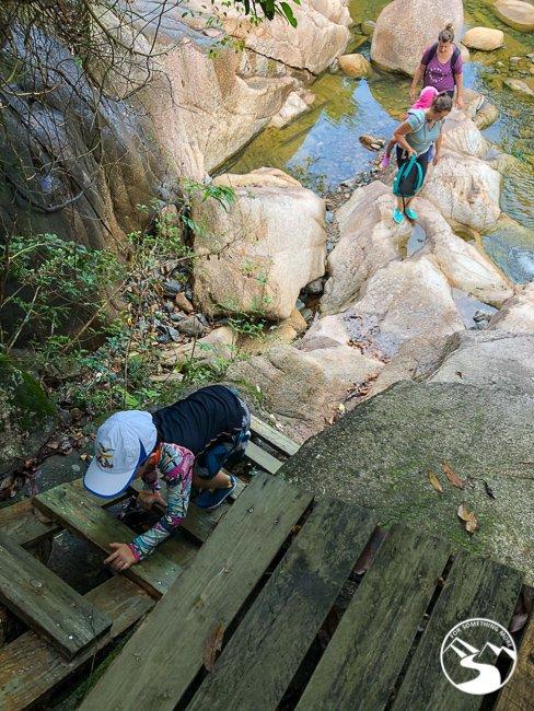 kids can climb up the ladder