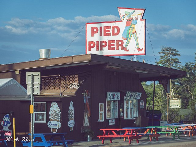The Pied Piper in Old Forge, New York