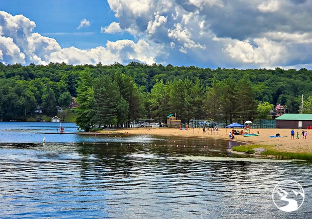 The Old Forge Public Beach