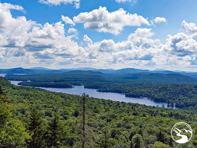View from Bald Mountain near Old Forge, New York