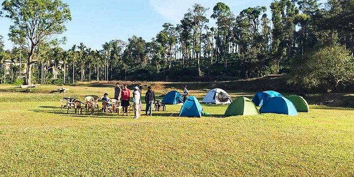 Coorg camping tents