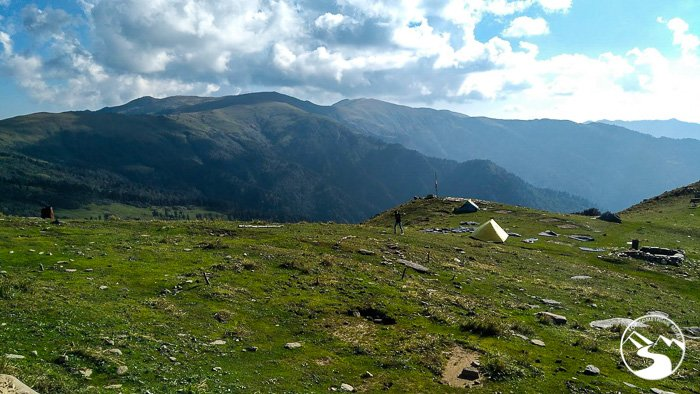 Triund is perfect for family camping in India