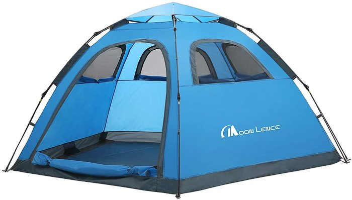 a moon lence family camping tents