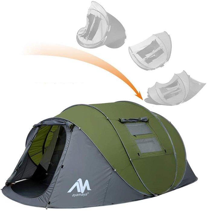 an amaya pop up tent