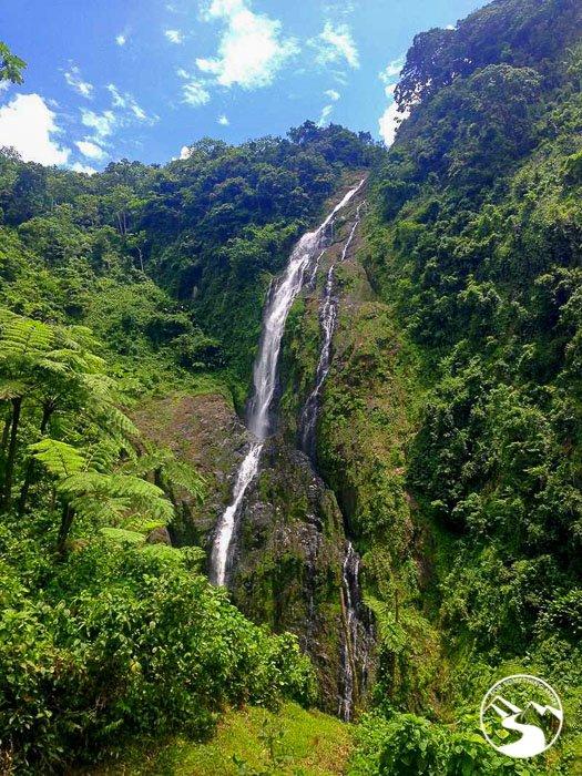 Salto De La Jalda the tallest waterfall in the Caribbean