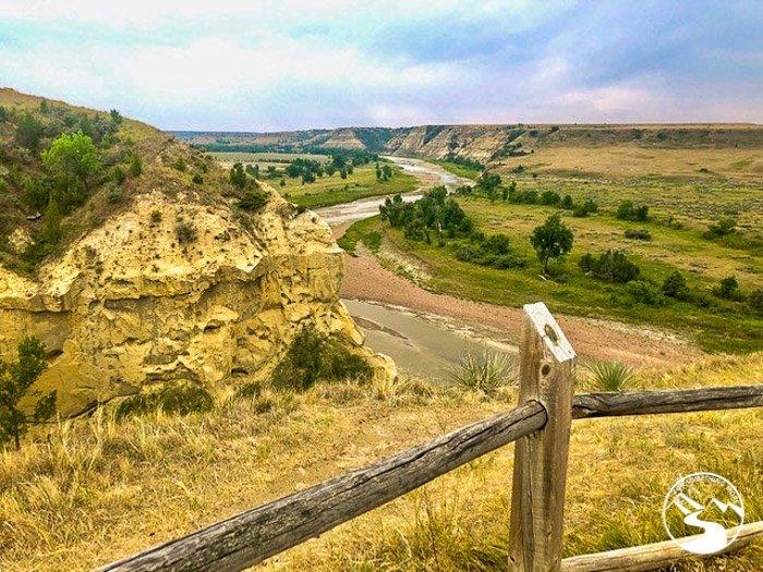 The North Dakota badlands are beautiful