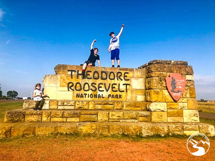 Theodore Roosevelt National Park With Kids is a great outdoor family adventure