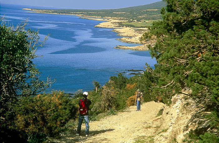 Hiking while on a Cyprus Family Holiday