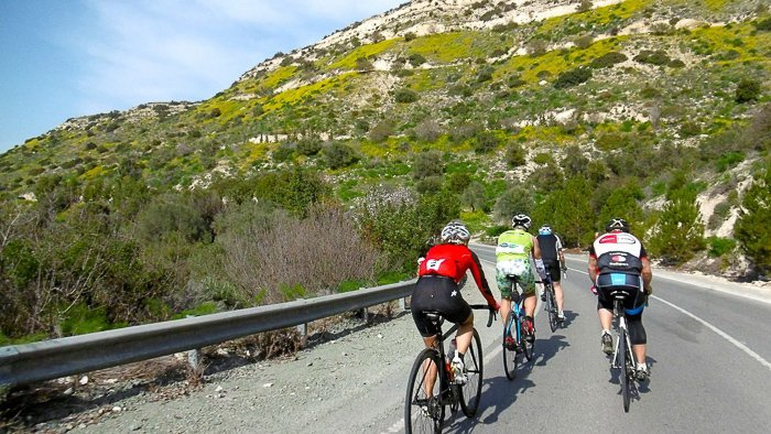 cycling in cyprus on a Cyprus Family Holiday