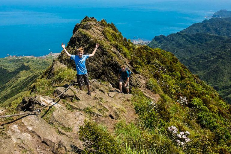 outdoor family adventures in Taiwan