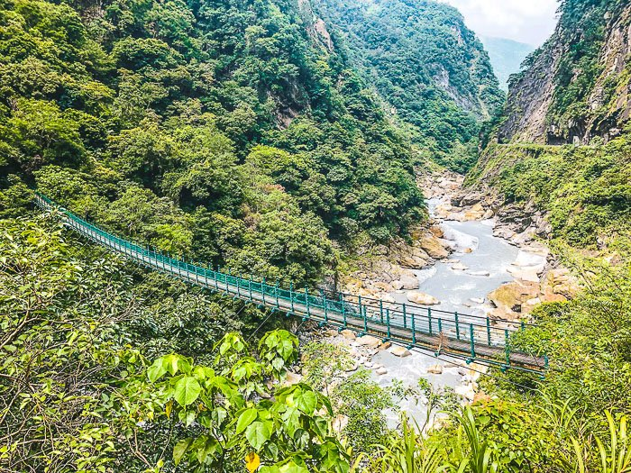 Adventures in Taiwan include Taroko Gorge and The Zhuili Old Road Trail