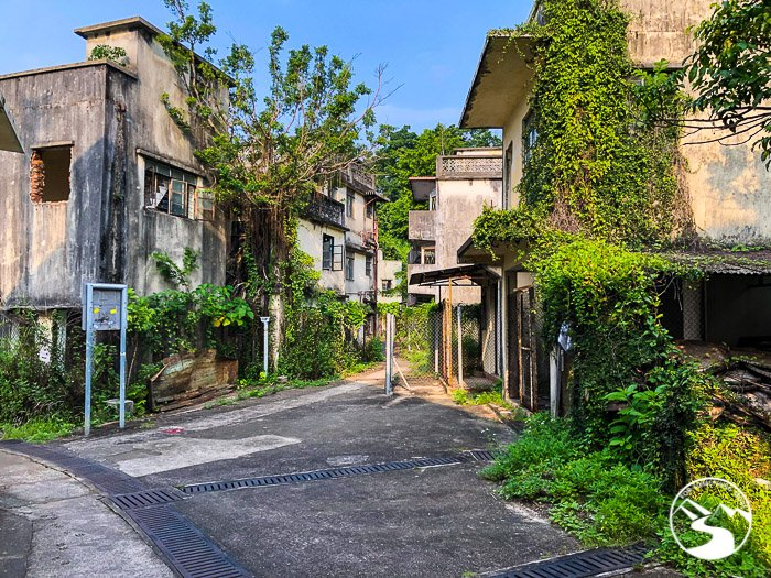 The Ma Wan (馬灣) Ghost Town