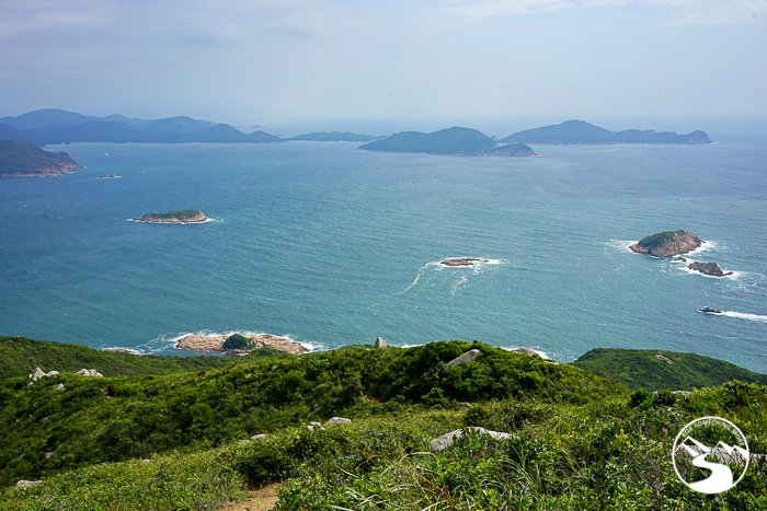 view of lobster bay along Lung Ha Wan Country Trail (龍蝦灣)