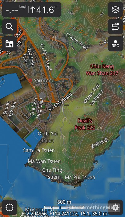 you can view topographic and hill shade data