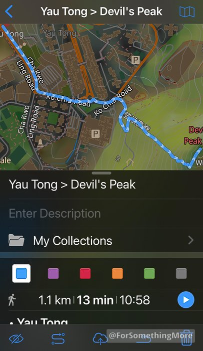 you can make routes on your maps for offline navigation