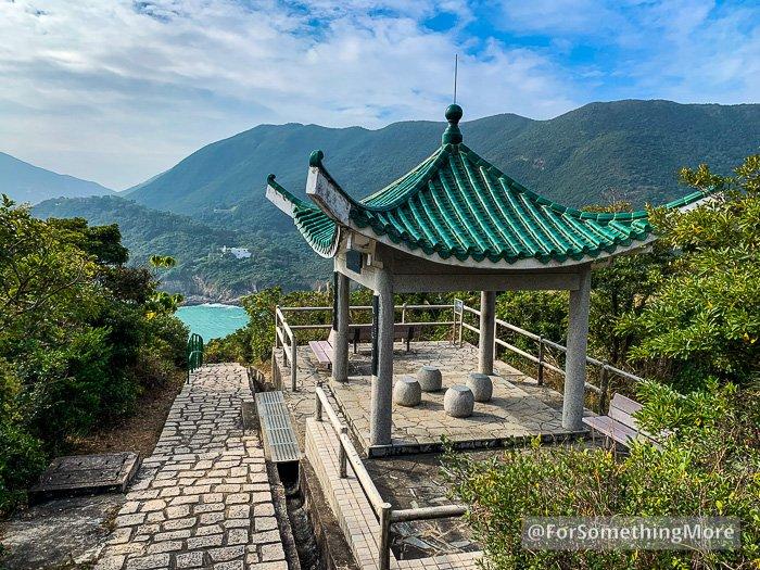scenic gazebo on the Leaping Dragon Walk (龍躍徑)