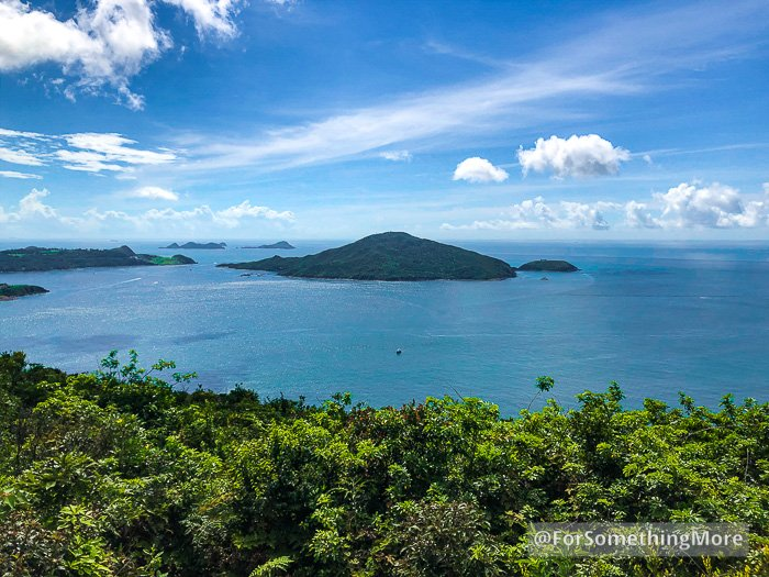 view of tung lung chau from Leaping Dragon Walk (龍躍徑)