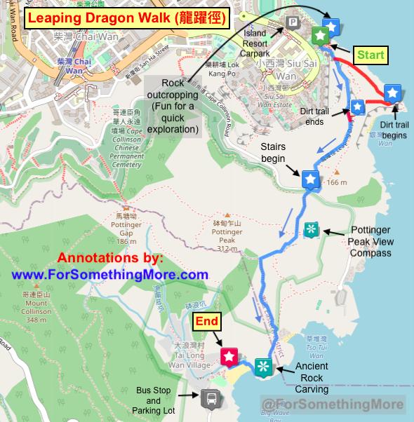 Leaping Dragon Walk (龍躍徑) map