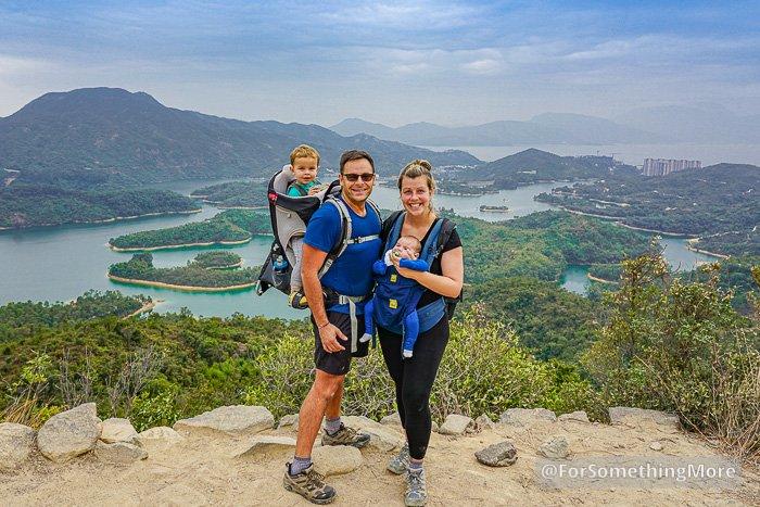 The Tai Lam Chung Reservoir (大欖涌水塘 千島湖) Thousand Island Viewpoint