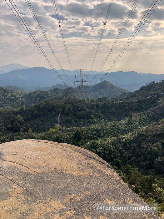 view from three diamonds rock