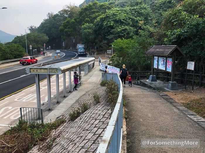 bridge over Tai Po Road