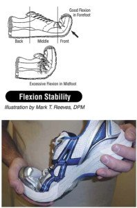 flexion stability shoe test