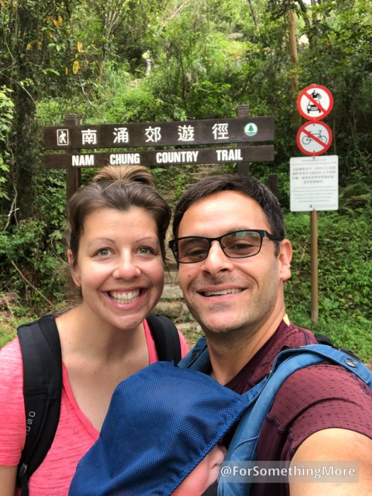 Nam Chung Country Trail sign